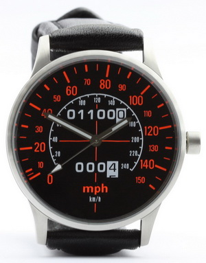 CB 1100 R speedometer mph watch